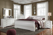 Picture of Anarasia 6-Piece King Sleigh Bedroom Set