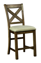 "Picture of Moriville 24"" Upholstered Barstool"