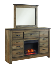 Picture of Trinell Dresser/Mirror/Fireplace