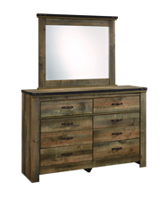 Picture of Trinell Youth Dresser & Mirror