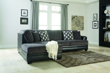 Picture of Kumasi Smoke 2-Piece Left Arm Facing Sectional