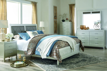 Picture of Olivet 6-Piece King Panel Bedroom Set