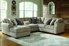 Picture of Pantomine Driftwood 4-Piece  Left Arm Facing Sectional