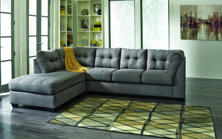 Picture of Maier Charcoal 2 Piece Left Arm Facing Sectional