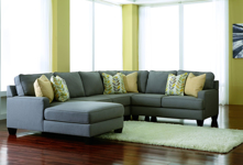 Picture of Chamberly 4 Piece Left Arm Facing Sectional