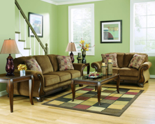 Picture of Montgomery Mocha 2 Piece Living Room Set