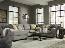 Picture of Cresson Pewter 4 Piece Left Arm Facing Sectional