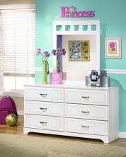 Picture of Lulu Dresser & Mirror