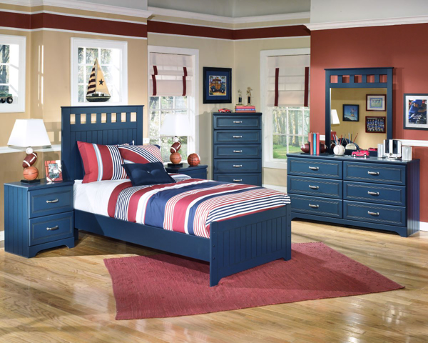 Picture of Leo 6-Piece Twin Panel Bedroom Set