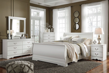 Picture of Anarasia 6-Piece Queen Sleigh Bedroom Set
