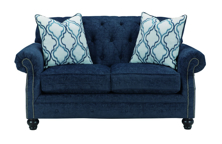 Picture of LaVernia Navy Loveseat