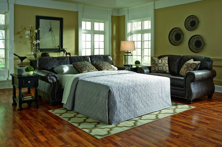Picture of Breville Charcoal Queen Sofa Sleeper