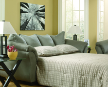 Picture of Darcy Cobblestone Full Sofa Sleeper