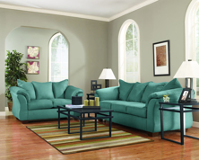 Picture of Darcy Sky 2-Piece Living Room Set