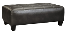 Picture of Nokomis Charcoal Accent Ottoman
