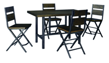 Picture of Kavara Counter Height 5-Piece Dining Set
