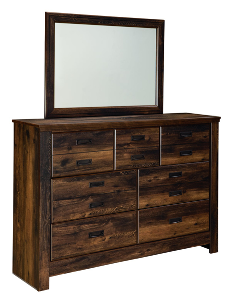 Picture of Quinden Dresser & Mirror