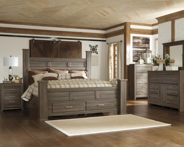 Juararo 6-Piece King Storage Bedroom Set