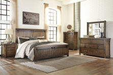 Picture of Lakeleigh 6-Piece King Panel Bedroom Set
