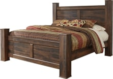 Picture of Quinden King Poster Bed