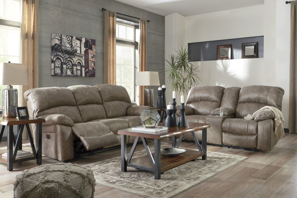Picture of Dunwell Driftwood 2-Piece Power Reclining Living Room Set