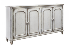 Picture of Mirimyn Antique White Door Accent Cabinet