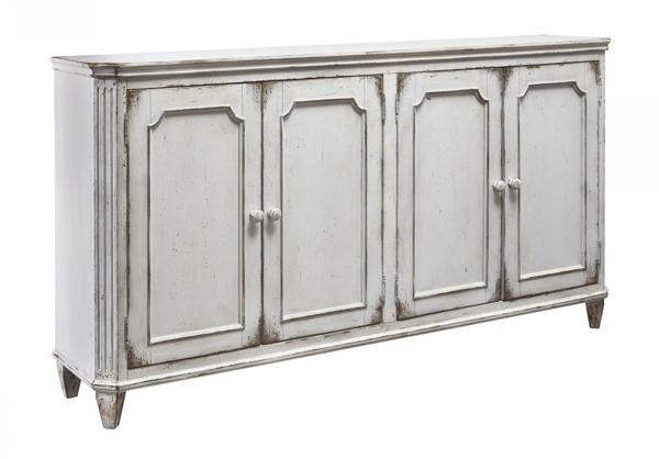 Picture of Mirimyn Antique White Door Accent Cabinet