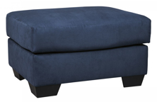 Picture of Darcy Blue Ottoman