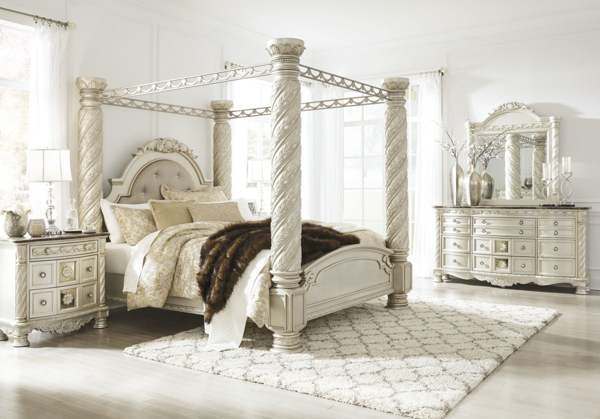Cassimore 6-Piece King Poster Bedroom Set