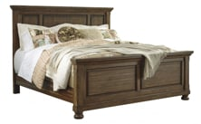 Picture of Flynnter King Panel Bed