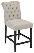 "Picture of Tripton Linen 24"" Barstool"
