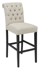 "Picture of Tripton Linen 30"" Barstool"
