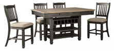 Picture of Tyler Creek 5 Piece Counter Height Dining Set