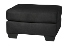 Picture of Darcy Black Ottoman
