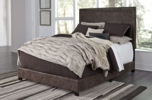 Picture of Dolante King Upholstered Bed