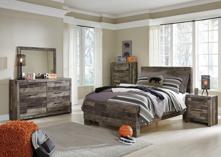 Picture of Derekson 6-Piece Full Panel Bedroom Set