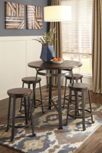 Picture of Challiman 5-Piece Counter Height Dining Set