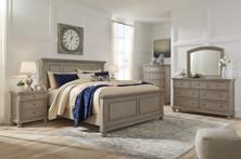 Picture of Lettner 6-Piece King Panel Bedroom Set