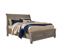 Picture of Lettner King Sleigh Bed
