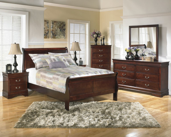 Picture of Alisdair 6-Piece Full Sleigh Bedroom Set