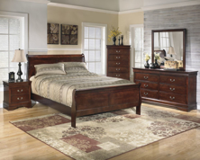 Picture of Alisdair 6-Piece Queen Sleigh Bedroom Set