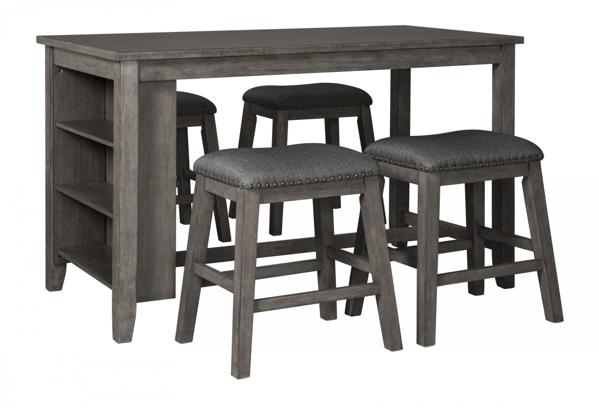 Caitbrook 5 Piece Counter Height Dining Set Furniture