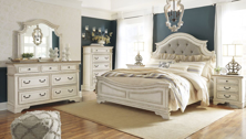 Picture of Realyn 6-Piece King Panel Bedroom Set