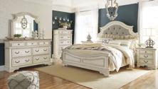 Picture of Realyn 6-Piece Queen Panel Bedroom Set