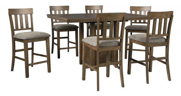 Picture of Flaybern 7-Piece Counter Height Dining Set