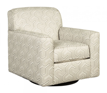 Picture of Daylon Graphite Swivel Accent Chair