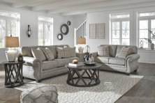 Picture of Olsberg Steel 2-Piece Living Room Set