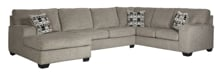 Picture of Ballinasloe Platinum 3-Piece Left Arm Facing Sectional