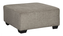 Picture of Ballinasloe Platimum Oversized Accent Ottoman