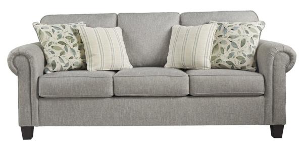 Alandari Gray Sofa Sofas Furniture